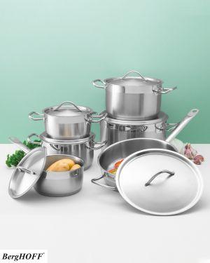 Set van 5 kookpotten en braadpan met deksel - BergHOFF