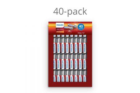 40 x AAA batterijen