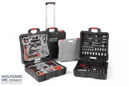 400-delige gereedschapskoffer - Wolfgang Germany