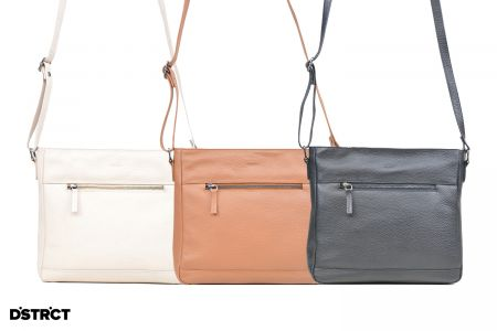 Crossbody Elegant in zwart, cognac of beige