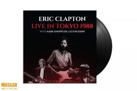 Lp vinyl Eric Clapton with Mark Knopfler & Elton John - Live in Tokyo 1988