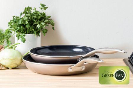 GreenPan set van 2 braadpannen