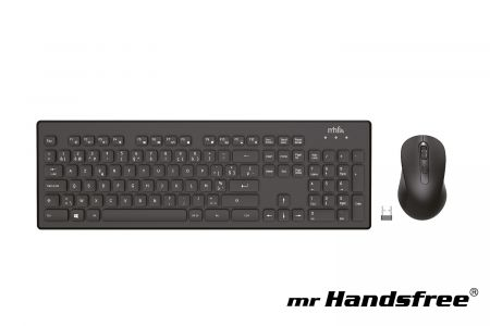 Draadloos toetsenbord met muis