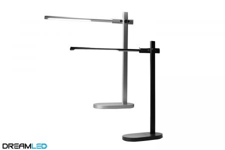 Led-bureaulamp aluminium