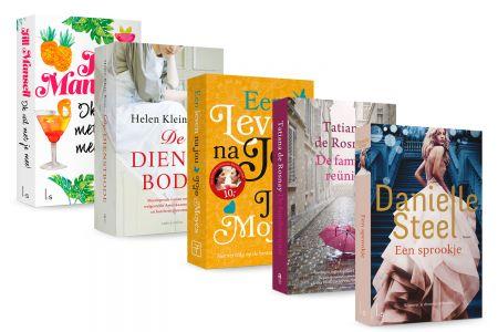 Pakket van 5 romans