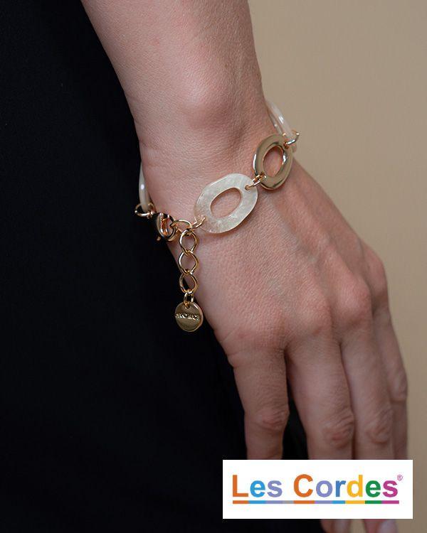 Armband met grote schakels