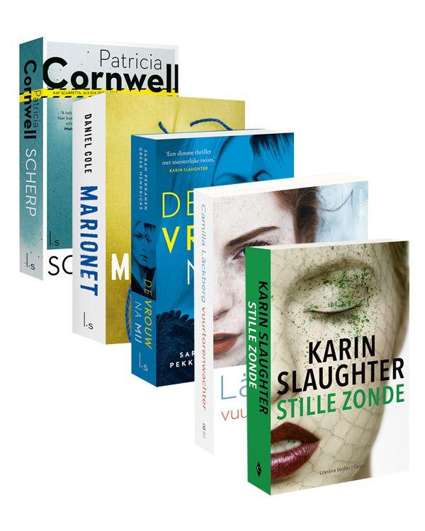 5 beklijvende thrillers