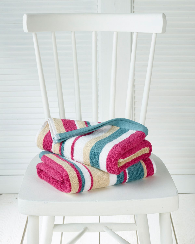 2x handdoek Ophelia multi - De Witte Lietaer