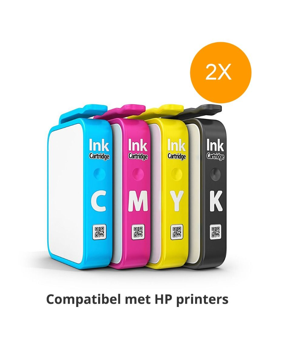 Inktpatronen compatibel met HP printer