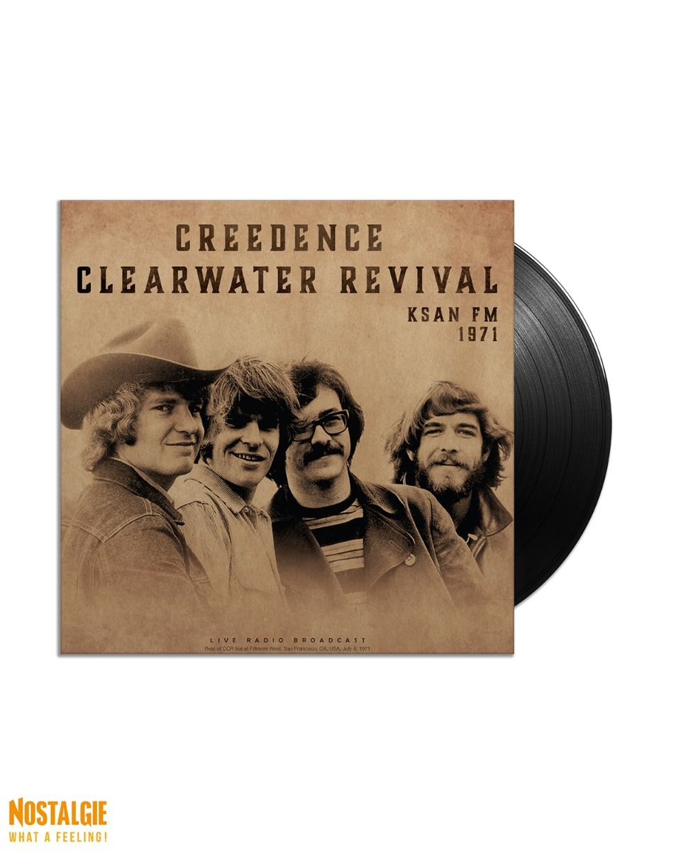 Lp vinyl Creedence Clearwater Revival - KSAN FM 1971