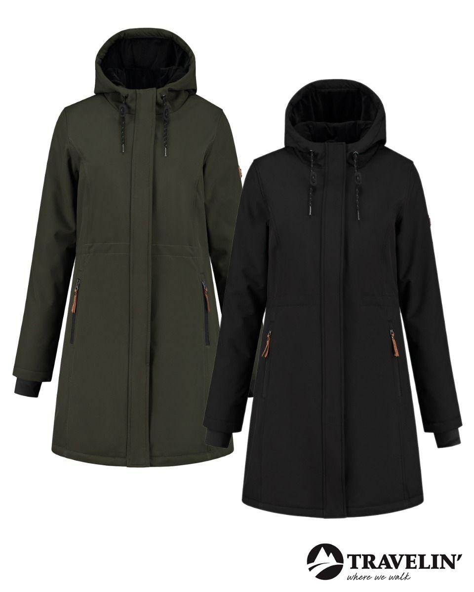 Travelin outdoor jas Silya dames